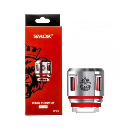 SMOK V8 BABY-T12 RED LIGHT COIL SMOK