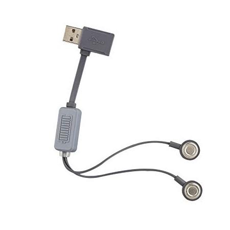 Folomov A1 USB Cargador de Batería Li-ion Magnético