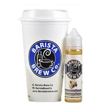 BARISTA BREW CO CINNAMON GLAZED BLUEBERRY SCONE 50ML
