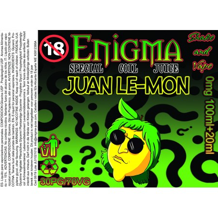JUAN LEMON 100+20ML