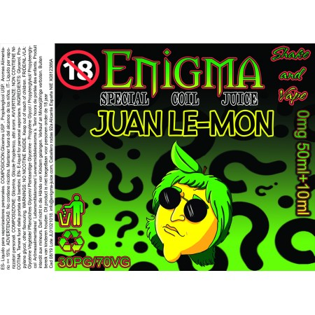 JUAN LEMON TPD 50ML+10ML NIKOKIT
