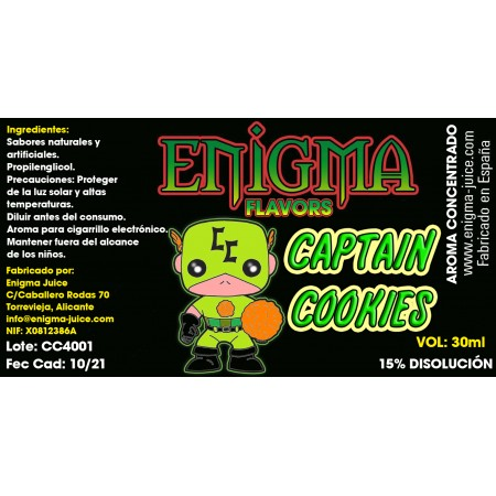 Aroma Captain Cookies 30ml
