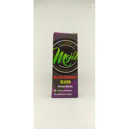 AROMA BLACKCURRANT SLUSH  30ML MOJITO