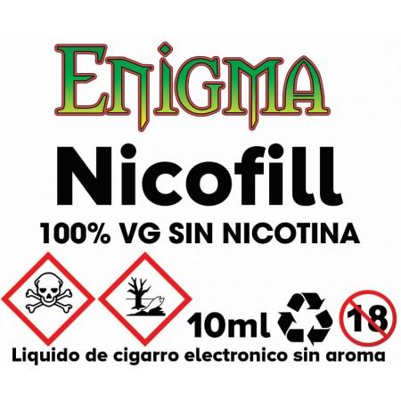 NIKOKIT/NIKOFILL 10ML 0MG