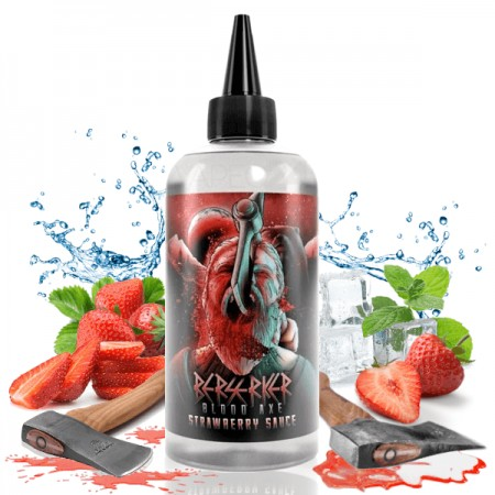 Berserker Strawberry Sauce - Joes Juice 200ml
