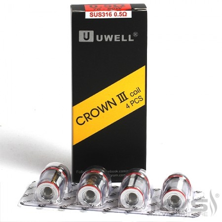 RESISTENCIAS UWELL CROWN 3 0.5OHM PACK 5