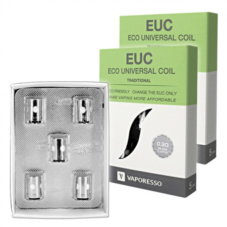 RESISTENCIAS VAPORESSO EUC 0.5 TRADITIONAL